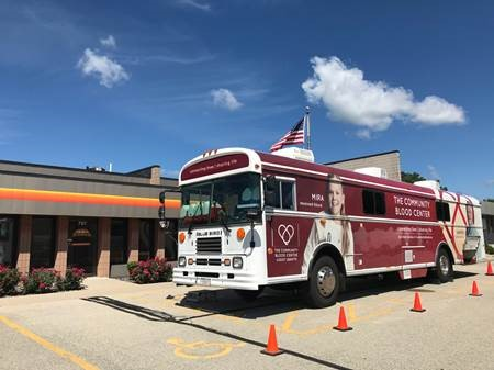 Community Blood Center Blood Drive