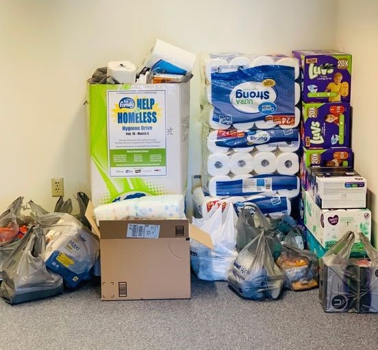 Help for The Homeless Donation Drive