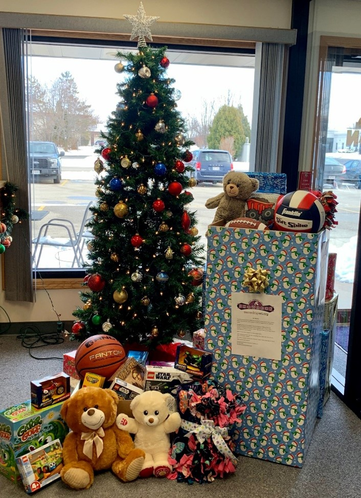 Snowdrop Foundation Wisconsin Chapter Toy Drop