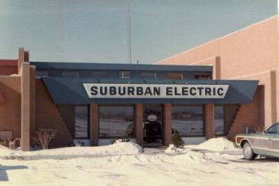 Suburban Electric Front Entrance